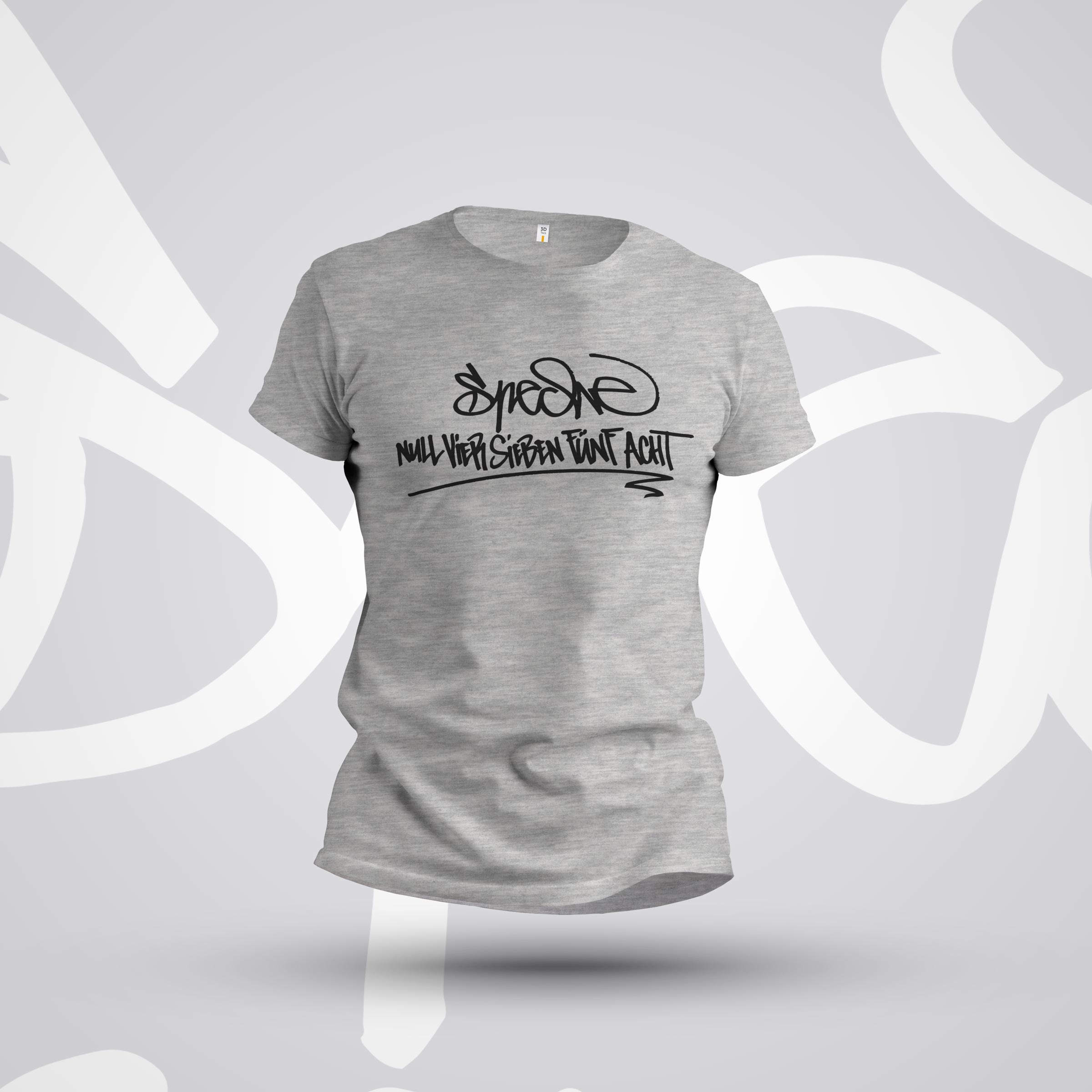 """Shirt """" Speche Null Vier Sieben Fünf Acht"""" – designt von Speche"""