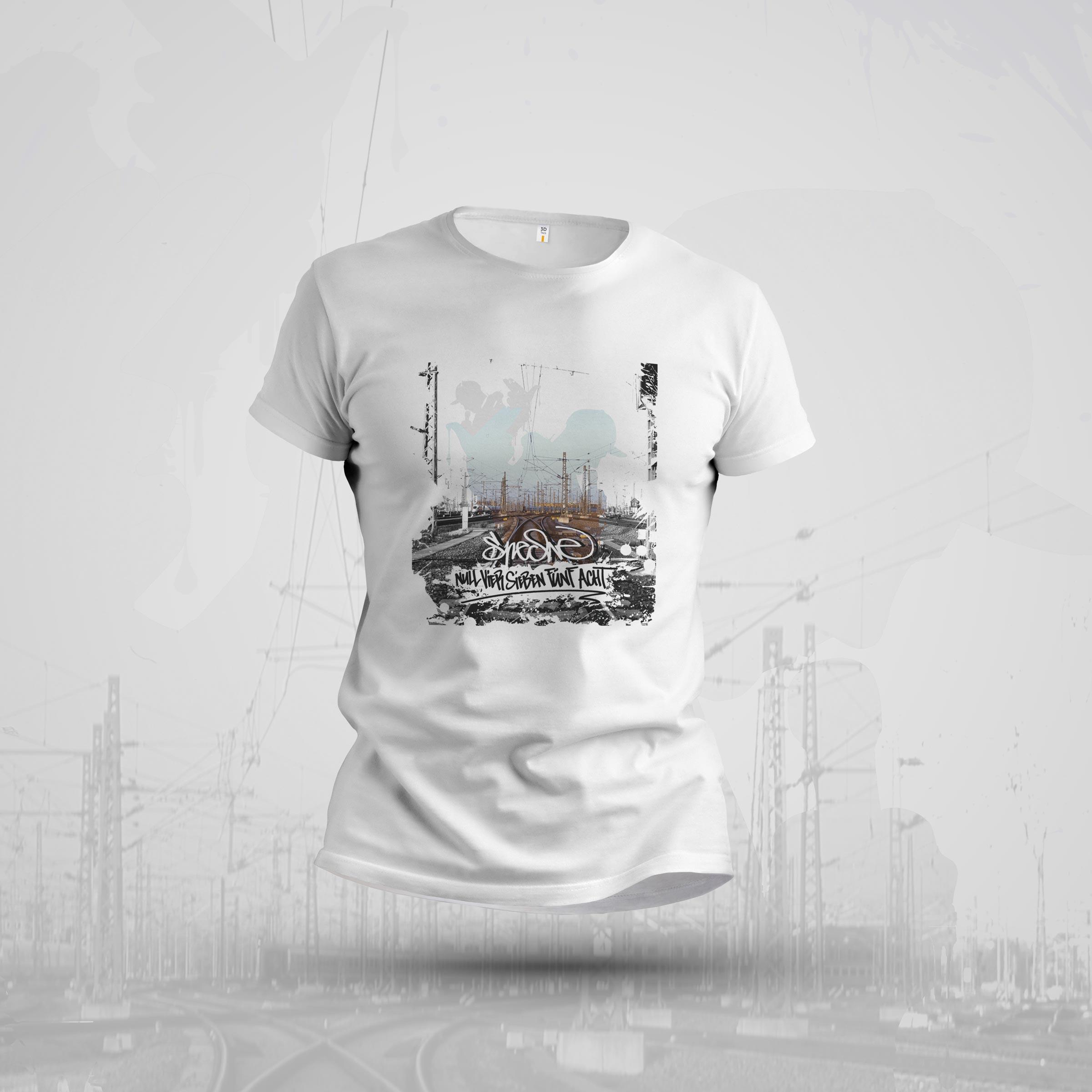 """Shirt """"Null Vier Sieben Fünf Acht Cover"""" – designt von Ron"""