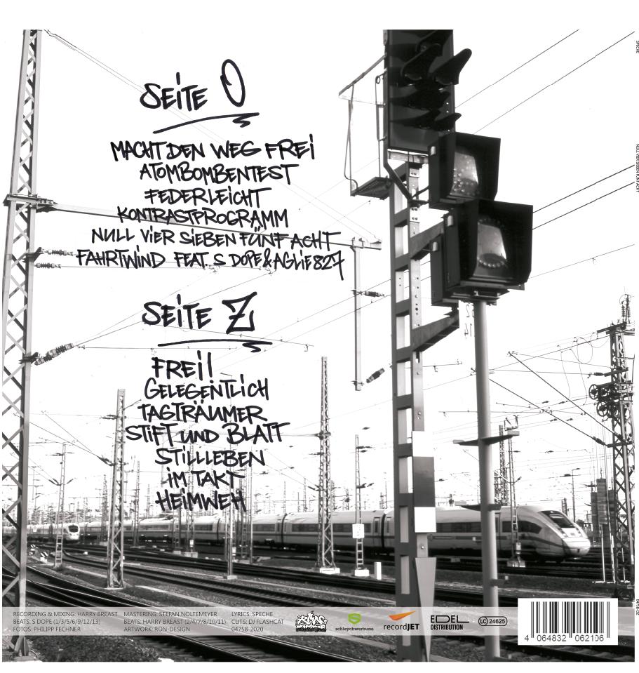 """ALBUM VINYL """"null vier sieben fünf acht"""" (inklusive MP3 Download-Code)"""